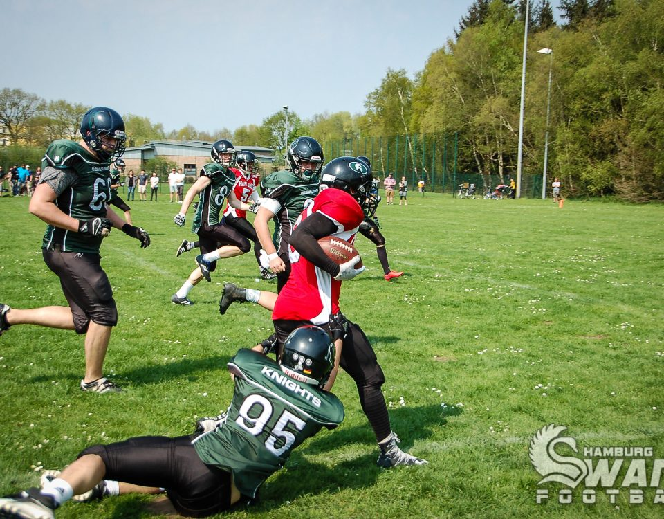 2018-04-22 Oldenburg Young Knights vs. Iron Swans