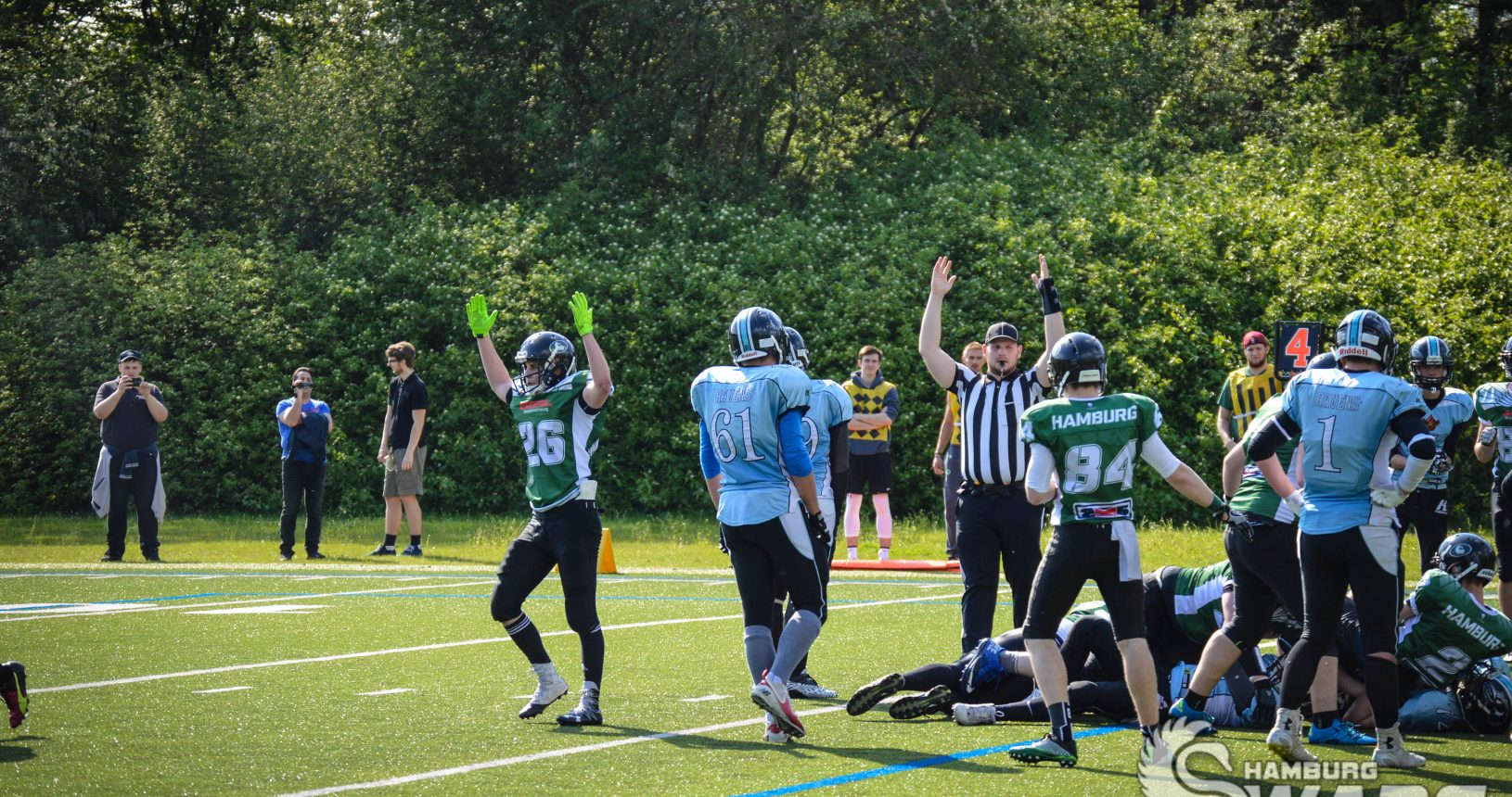 2017-05-14 Hamburg Iron Swans vs. Hamburg Ravens